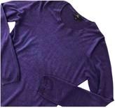 Fay Purple Silk Knitwear for Women