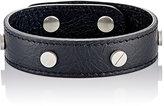 Balenciaga Men's Arena Classic Stud Bracelet-BLACK