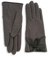 Portolano Leather Bow Gloves