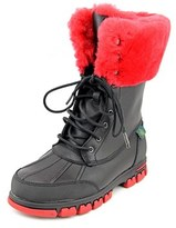 Lauren Ralph Lauren Quinta Round Toe Leather Winter Boot.