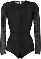 Ann Demeulemeester sheer body - women - Cotton/Polyamide/Spandex/Elastane - 36