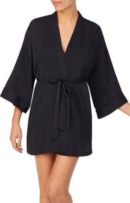 Shady Lady Embroidered Short Robe