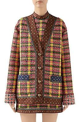Gucci Women's Candy Tweed Jacket