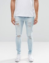 Always Rare Distressed Extreme Super Skinny Jeans