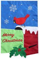 """Evergreen Merry Christmas"""" Indoor / Outdoor Garden Flag"""