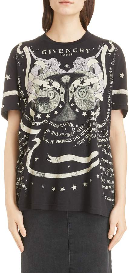 Givenchy Gemini Graphic Tee
