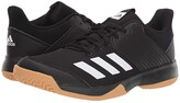 adidas Ligra 6 (Core Black/Footwear White/Gum M1) Women's Shoes