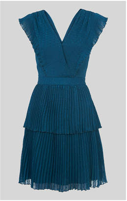 Whistles Penelope Tiered Dobby Dress