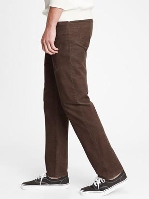 Gap Corduroy Straight Jeans with GapFlex