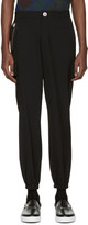 Versus Black Lion Zip Trousers