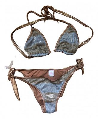 Non Signã© / Unsigned Gold Lycra Swimwear