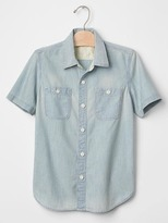 Gap 1969 Light Chambray Shirt