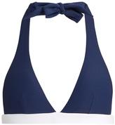 Heidi Klein Cape Cod halterneck bikini top