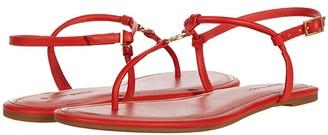 Tory Burch Emmy Flat Sandal (Perfect Black) Women's Shoes