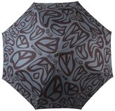 Moschino peace sign intarsia umbrella
