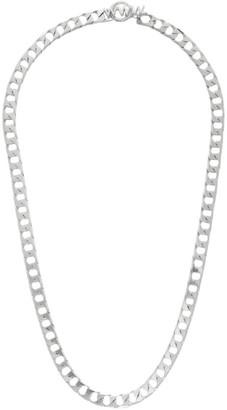 WWW.WILLSHOTT Silver Single Link Necklace