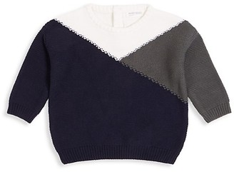 Miles Baby Baby Boy's Miles Playwear Snow Day Colorblock Sweater