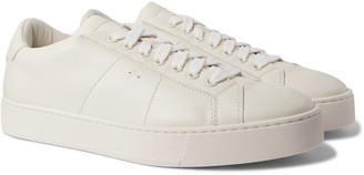 Santoni Leather Sneakers