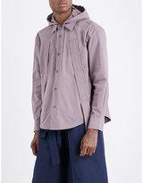 Craig Green Hooded cotton-blend shirt