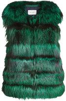 Yves Salomon Fox Fur Vest
