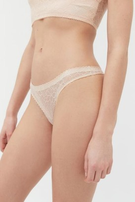 Out From Under Hailey Sheer Lace Thong