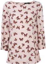 Steffen Schraut butterfly print blouse