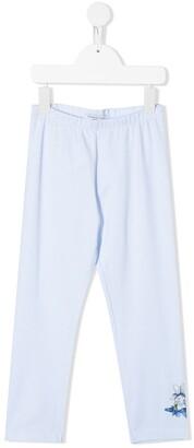 MonnaLisa Floral Detail Jersey Trousers