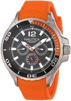 Nautica Men's Nst 02 N17614G Silicone Quartz Watch