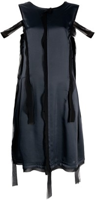 Maison Margiela Asymmetric Distressed-Effect Dress