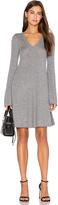 BCBGMAXAZRIA Flare Sleeve Sweater Dress