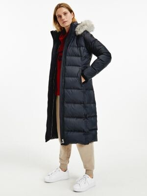 Tommy Hilfiger Essential Down-Filled Maxi Coat