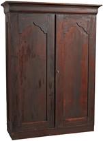Rejuvenation Victorian Armoire w/ Moorish Paneled Doors