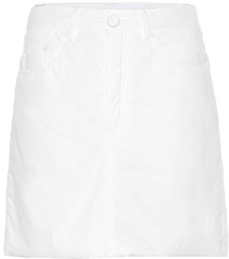 MM6 MAISON MARGIELA Cotton miniskirt