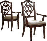 Signature Design by Ashley Leahlyn Set of 2 Arm Chairs