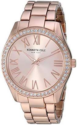 Kenneth Cole New York Women's Classic Stainless Steel Analog-Quartz Watch with Alloy Strap