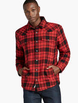 Lucky Brand Plaid Sherpa Jacket
