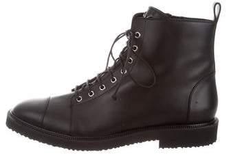 Giuseppe Zanotti Tyson Combat Boots w/ Tags