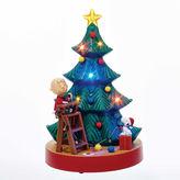 Kurt Adler 10.5 Animated Musical Peanuts Tree Tablepiece