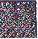 fe-fe round pattern scarf
