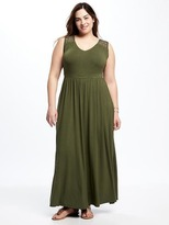 Old Navy Plus-Size Lace-Yoke Maxi Dress