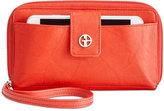 Giani Bernini Sandalwood Leather Tech Wristlet, Created for Macy's