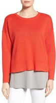 Eileen Fisher Women's Organic Linen Sweater