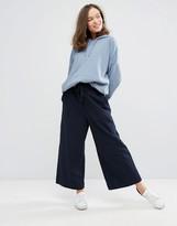 Monki Wide Leg Cropped Pants