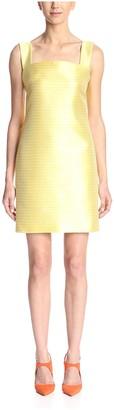 Christian Siriano Women's Thin Stripe Dress