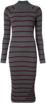 Alexander Wang striped knitted dress