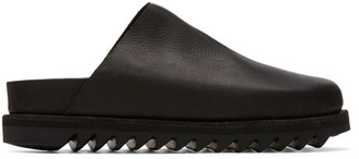 Guidi Black Calfskin Slip-On Loafers