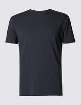 David Gandy For Autograph Supima® Slim Fit Short Sleeve Pyjama Top With Modal