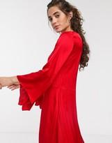 InWear Courtney sateen maxi dress
