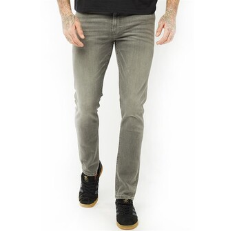 Firetrap Mens Skinny Jeans Charcoal