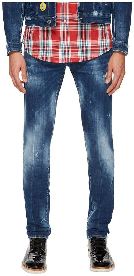DSQUARED2 Medium Nothing Wash Slim Jeans